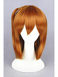 Curto amor ao vivo! -kousaka honoka laranja sintética 16inch anime cosplay peruca cs-181b