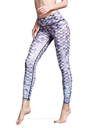 Women's Fashion Sexy Tights High Elastic Fitness Sports Yoga Leggings Size S-XL