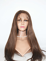 Long Straight Human Hair Lace Wigs  Lace Front Human Hair Wigs  For Black Women