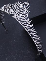 Perno de pelo al aire libre de las vendas de las tiaras de la ocasión especial de la cabeza-boda de la aleación cristalina del rhinestone 1 pedazo