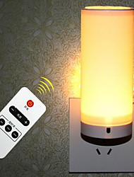 Led RemoteControl Night Light Plug a Small Lamp