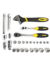 STANLEY Two - Handle Chrome Vanadium Steel Wrench 27 Pieces 10-12.5mm LT-025-23 Manual Tool Set