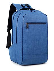 Borsa a tracolla portatile del computer portatile ultrasottile di 15.6 pollici unisex impermeabile di colore puro impermeabile