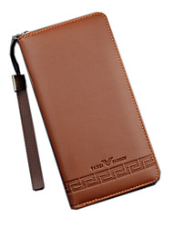 Men PU Polyester Formal Sports Casual Outdoor Office & Career Shopping Wallet All Seasons
