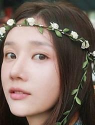 Women's Fabric Hair ClipCute Party Casual Spring Summer Headband Headpiece Head Wreath  Hair Accessories  Flower Girls