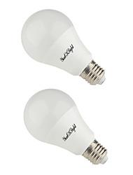 YouOKLight 2PCS E26/E27/B22 12W 850-900Lm AC85-265V 24*5730 SMD LED Warm White/Cool White 3000K/6000K Global Light Bulb