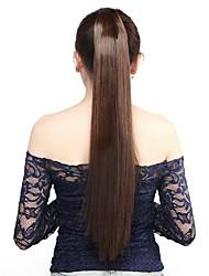 neitsi 1pcs 115g enroulent autour queue de cheval extensions de cheveux postiches Striaght synthétique m2 / 30 #