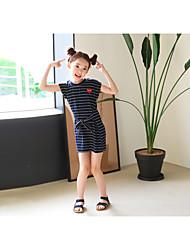 Girl's Stripe Dress
