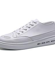 Unisex-Sneakers-Casual-pattini delle coppie ComodaPU (Poliuretano)-Bianco