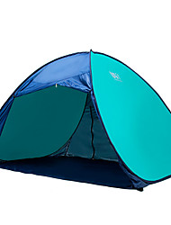 2 persons Tent Single Automatic Tent One Room Camping Tent Fiberglass Portable-Camping Traveling