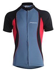 Jaggad Cycling Jersey Men's Long Sleeve Bike Jersey Tops Quick Dry Breathable Polyester Patchwork Spring Summer Cycling/Bike
