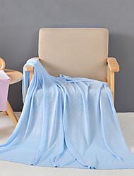 ТрикотажСплошная Сплошная Бамбук/хлопок одеяла