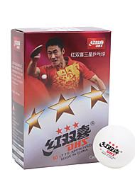 1 PCS  3 Star Indoor/Sport/Practise Plastic Durable Table Tennis