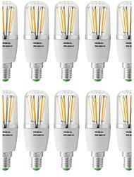 5W E14 Lampadine LED a incandescenza T 6 COB 500 lm Bianco caldo Luce fredda V 10 pezzi