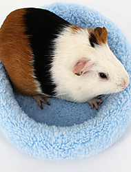 Hamster Supplies Winter Cold Pad Mat Hedgehog Round Machine Small Pet Nest Of Guinea Pigs  Random Color