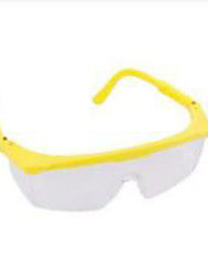 Macro/HOLD - HighEnd Safety Goggles - White Flakes