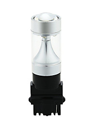 Sencart 2pcs 3156 8led 3535smd pour les ampoules auto blanches / rouges / jaunes pour la queue arrière de freins ac / dc9-30v