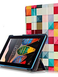 Cubierta de la caja de impresión para lenovo tab3 tab 3 7 esencial 710 710f tb3-710f tableta con película protectora