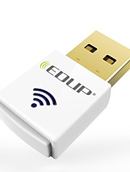 Edup ep-ac1619 de doble banda 2.4g / 5.8ghz ac600mbps mini USB inalámbrico wi-fi dongle 600mbps usb wifi adaptador
