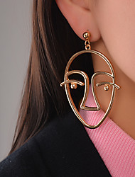 Dangle Earrings Jewelry Dangling Style Pendant Euramerican Fashion Personalized Chrome Jewelry Jewelry For Daily Casual Outdoor 1 pcs