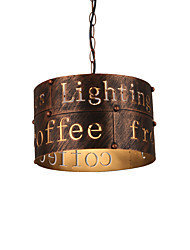 Max 60W Vintage Metal Loft Pendant Lights Living Room Dining Room Cafe Bars Clothing Store decoration Light Fixture