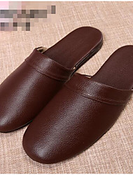 Men's Slippers & Flip-Flops Spring Comfort Light Soles Leather Casual