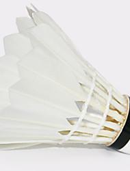 1 Pças. badminton Peteca de Badminton Peteca com Penas Vestível Durável Estabilidade para Penas de Ganso