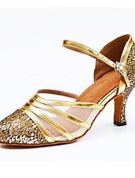 Zapatos de baile-Personalizables-Mujer-LatinoSemicuero-