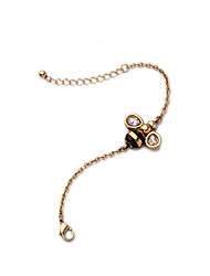 Women's Chain Bracelet Jewelry Fashion Alloy Bee Jewelry For Wedding Party Anniversary