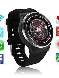 3g smartwatch phone avec gps wifi podomètre cardiofréquencemètre 5.0mp rc caméra pour android 5.1