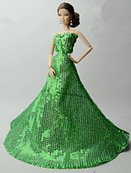 Вечеринка Платья Для Кукла Барби смокинг Для Девичий игрушки куклы