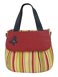 Kate&Co. cloth with leather handbags / shoulder bag color TH-02111