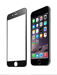 3d redondeó el cristal templado borde curvado para la cubierta completa del iphone 7 la caja protectora de la seguridad de la película del