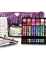 Correcteur/Contour+Correcteur+Autres+Pinceaux de Maquillage Rangement pour Maquillage Sec Visage Caisse Gloss pailleté Couverture Longue