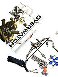 Mais Acessórios Inspirado por Overwatch Akatsuki Anime/Vídeo Games Acessórios para Cosplay Colares Mais Acessórios figura Liga