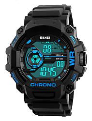 SKMEI Мужской Спортивные часы Армейские часы Модные часы Наручные часы электронные часы Японский ЦифровойLED Календарь Секундомер Защита