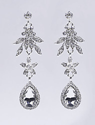 Fashion Flower Drop-shaped Earrings
