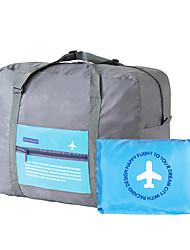 Organizador de Mala Dobrável Portátil Grande Capacidade para Organizadores para ViagemAzul