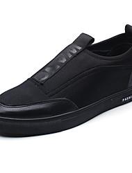 Herren-Sneakers Frühjahr Herbst Komfort Stoff lässig rot schwarz weiß