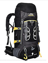 55 L Rucksack Camping & Wandern Reisen tragbar Atmungsaktiv Feuchtigkeitsundurchlässig