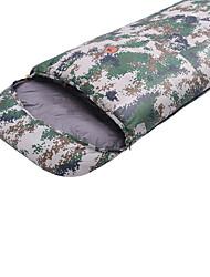 Sleeping Bag Rectangular Bag Single -10 -25 T/C Cotton 220X80 Camping Moistureproof/Moisture Permeability Keep Warm 自由之舟骆驼