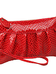 Fashion Serpentine Women's Day Clutch Genuine Leather Handbags Coin Purse Mobile Phone Bag Clutch Bag iphone Case