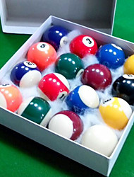 Billiard Balls Snooker Pool Impact Resistant Resin