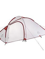 3-4 Pessoas Duplo Um Quarto com Vestíbulo Barraca de acampamentoCampismo Viajar