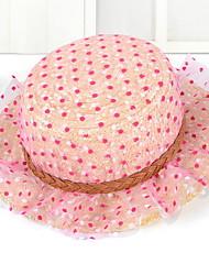 Silk Gauze Straw Hat Female Travel Sunshade Hat Summer Folding Beach Outdoor Tourism