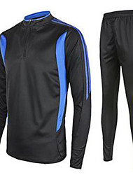 Kid's Soccer Jersey + Pants/Jersey+Tights Breathable Thermal / Warm Fall/Autumn Winter Classic Polyester Leisure Sports
