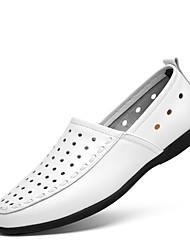 Herren-Sneaker-Lässig-PUKomfort-Weiß Schwarz Gelb Braun