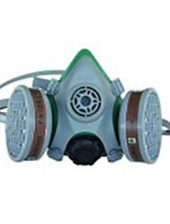 Sata meia máscara dupla cartucho válvula quatro máscara protetora máscara máscara de soldagem / 1