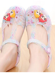 Women's Sandals Spring Comfort Jelly Shoes Hole Shoes Rubber Casual