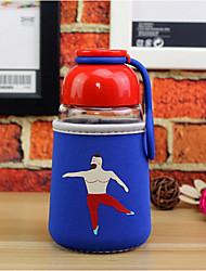 Питьевая бутылка из бутылки с водой из стеклянной бутылочки 320 мл